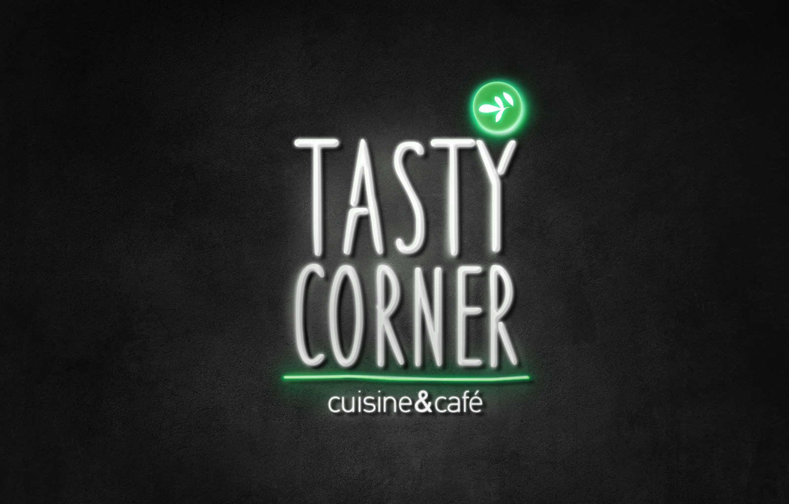 "Tasty Corner fast food featuring in Dieline's branding and packaging article ""A collection of green packaging designs"""