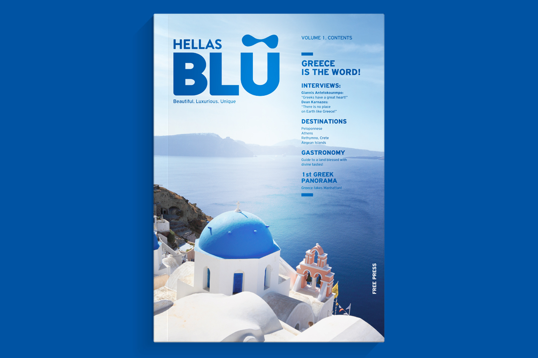 Interview on Hellas BLU Magazine