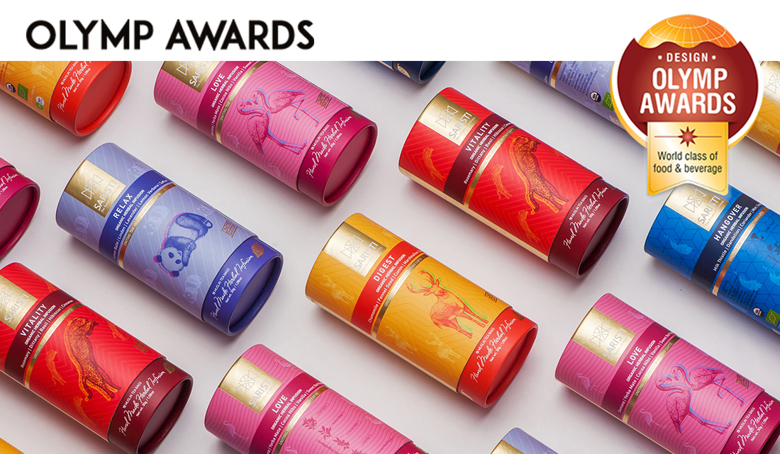 "SARISTI packaging awarded at ""OLYMP AWARDS"""