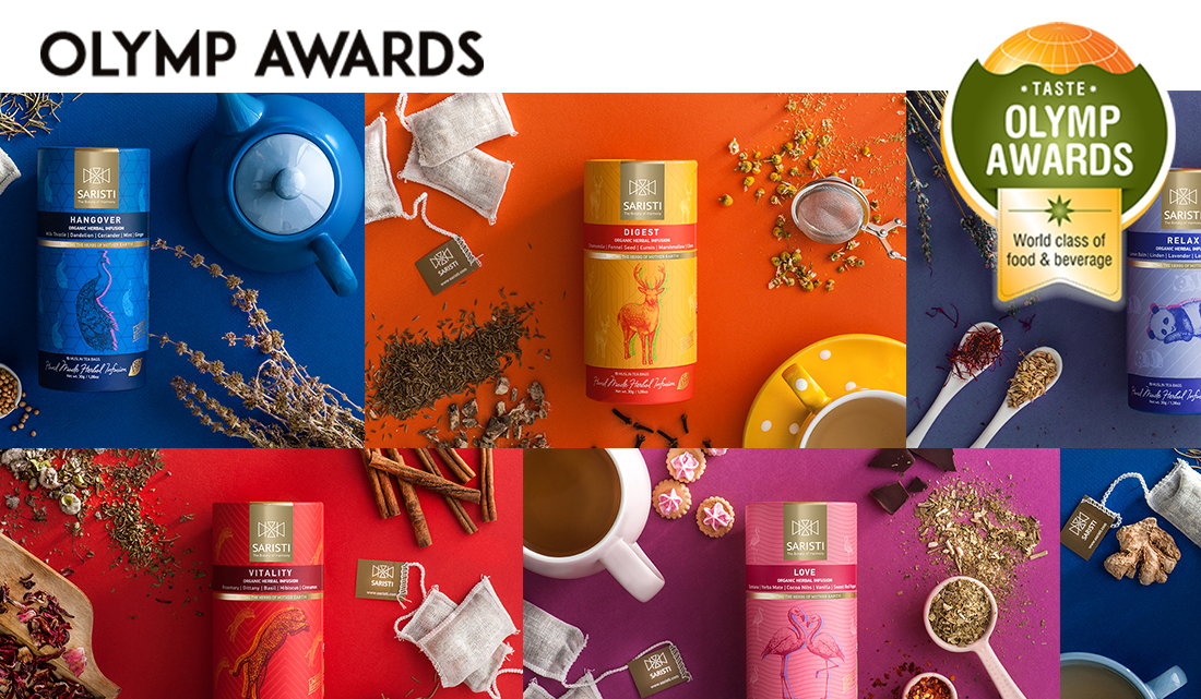 "SARISTI won awards at ""OLYMP AWARDS"""
