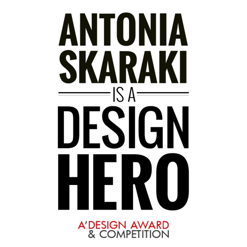 """Antonia Skaraki is a Design Hero"" a tribute by A' Design Awards"