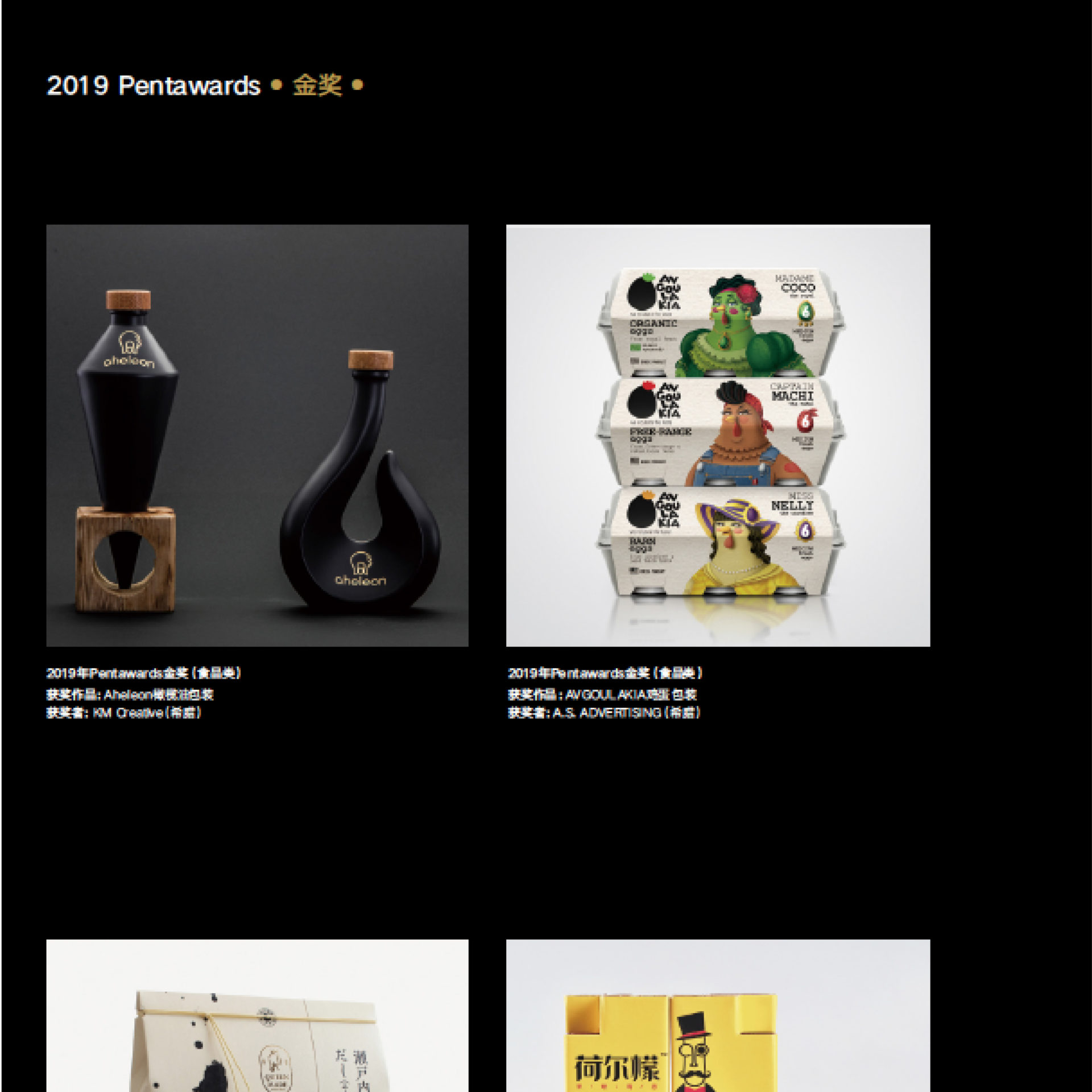 Avgoulakia featured in Package and Design magazine